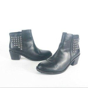 Matisse Womens Ankle Boots 7.5 B Studded Leather